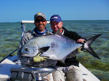 Fly fishing for tarpon bonefish permit redfish sharks for Permit fish florida